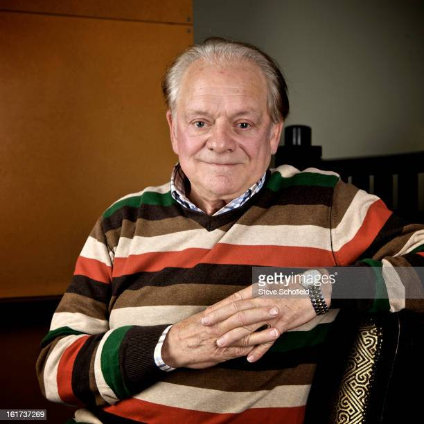 Actor David Jason is photographed for the Sunday Times magazine on November 16 2011 in London England