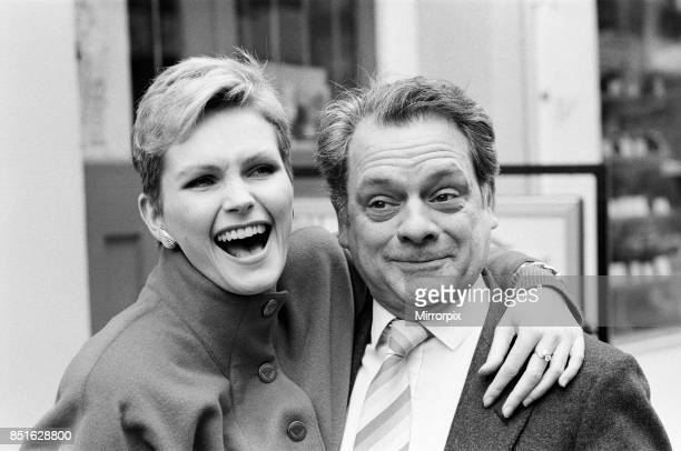 Actor David Jason who stars in Channel 4's production of Porterhouse Blue with Fiona Fullerton who appears in Hold That Dream 31st March 1987
