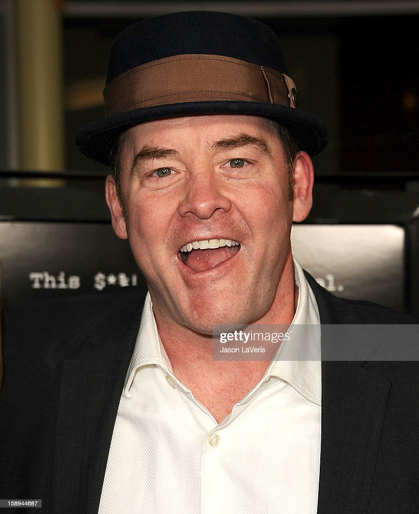 Actor David Koechner attends the premiere of 'A Haunted House' at ArcLight Hollywood on January 3, 2013 in Hollywood, California.