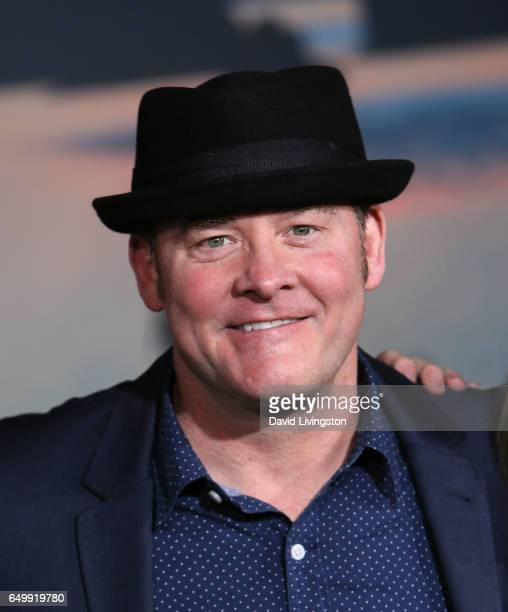 Actor David Koechner attends the premiere of Warner Bros Pictures' 'Kong Skull Island' at Dolby Theatre on March 8 2017 in Hollywood California