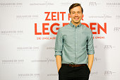 Actor David Kross attends the premiere of the film 'Zeit fuer Legenden Die unglaubliche Geschichte des Jesse Owens' at Astor Film Lounge on July 19...