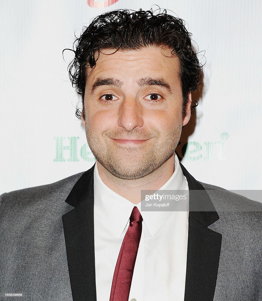 Actor <a gi-track='captionPersonalityLinkClicked' href=/galleries/search?phrase=David+Krumholtz&family=editorial&specificpeople=220284 ng-click='$event.stopPropagation()'>David Krumholtz</a> arrives at the 2nd Annual Chris4Life Celebrity Auction at SLS Hotel on April 5, 2013 in Beverly Hills, California.