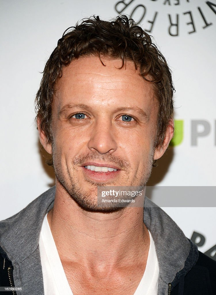 Actor David Lyons arrives at the 30th Annual PaleyFest: The William S. Paley Television Festival featuring 'Revolution' at Saban Theatre on March 2, 2013 in Beverly Hills, California.