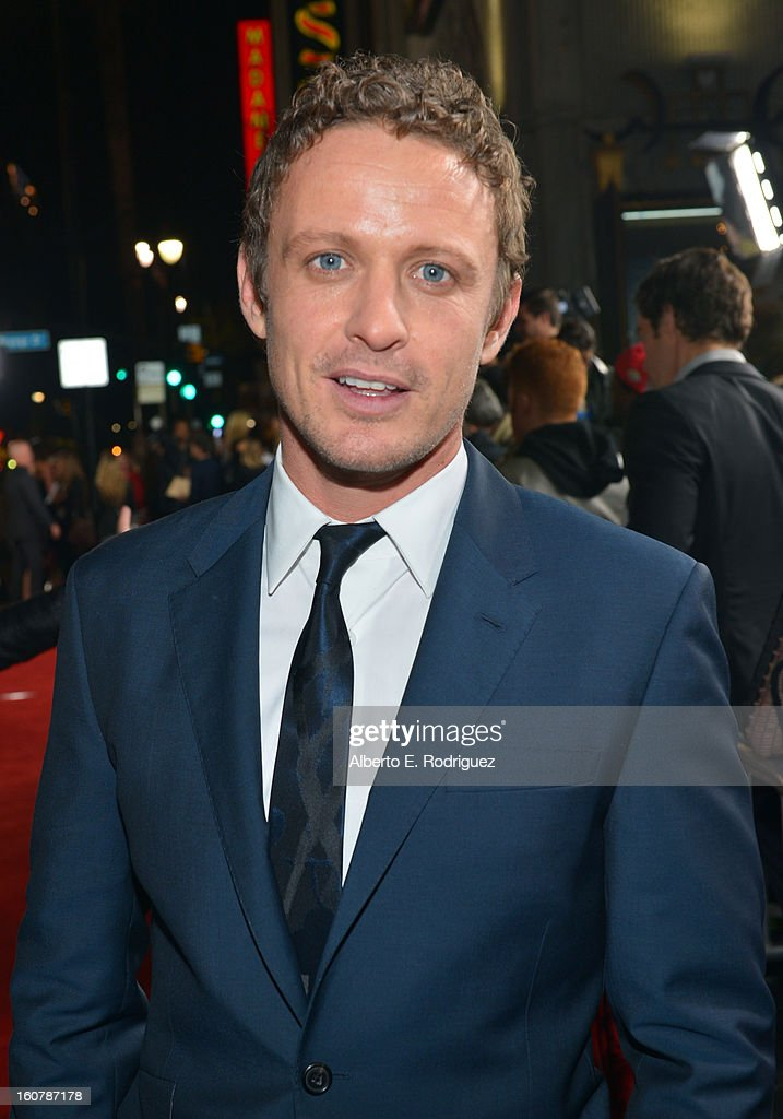 Actor David Lyons arrives at the premiere of Relativity Media's 'Safe Haven' at TCL Chinese Theatre on February 5, 2013 in Hollywood, California.