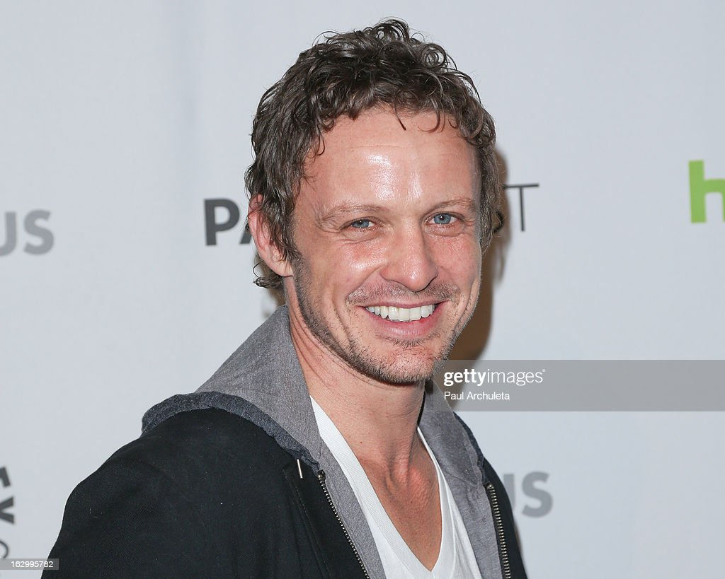 Actor David Lyons attends the 30th annual PaleyFest featuring the cast of 'Revolution' at the Saban Theatre on March 2, 2013 in Beverly Hills, California.