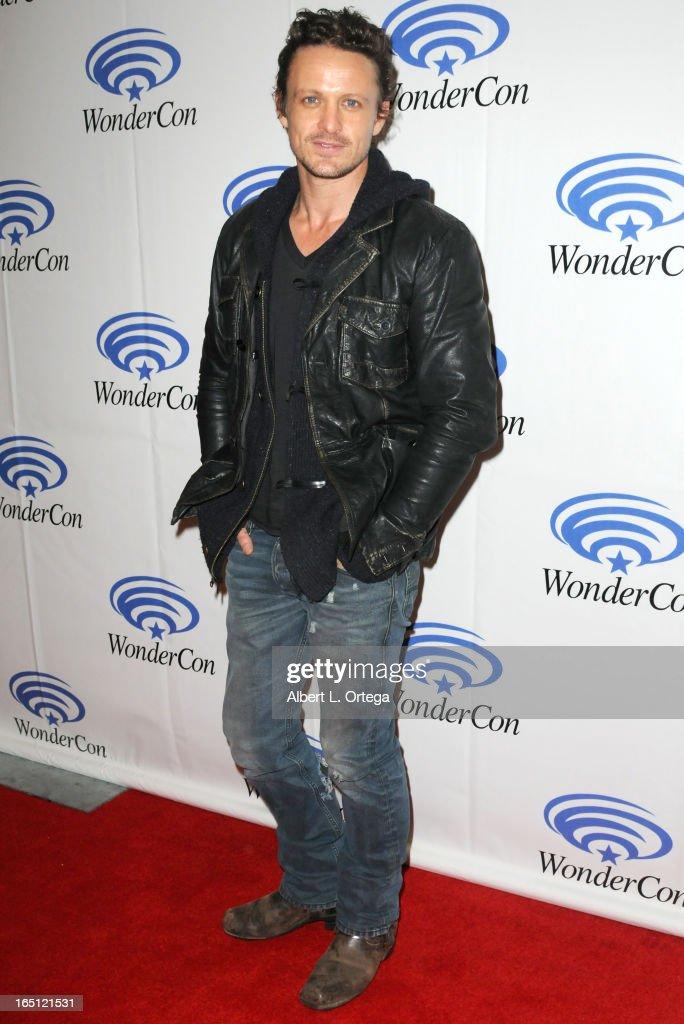 Actor David Lyons participates at WonderCon Anaheim 2013 - Day 2 at Anaheim Convention Center on March 30, 2013 in Anaheim, California.