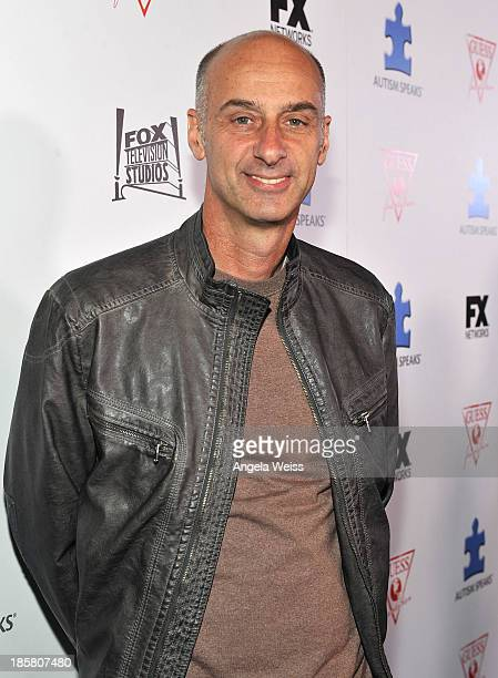 Actor David Marciano attends Autism Speaks' 3rd Annual 'Blue Jean Ball' presented by The GUESS Foundation at Boulevard 3 on October 24 2013 in...