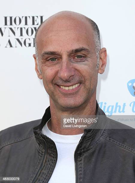 Actor David Marciano attends the 2nd Light Up The Blues Concert an evening of music to benefit Autism Speaks at The Theatre at Ace Hotel on April 5...