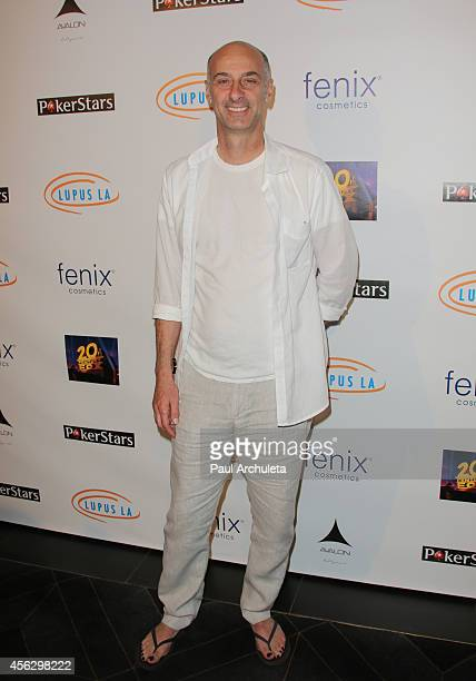 Actor David Marciano attends the 'Get Lucky For Lupus LA' celebrity poker tournament at Avalon on September 18 2014 in Hollywood California