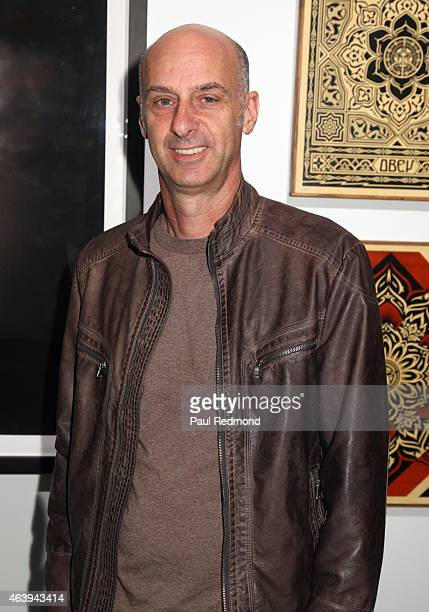 Actor David Marciano attends the LIFTArt Gallery Show and Art Auction at Quixote Studios on February 19 2015 in Los Angeles California