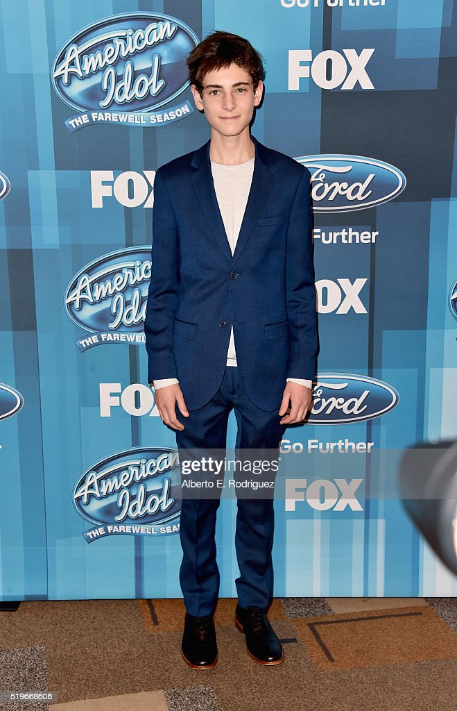 Actor David Mazouz attends FOX's 'American Idol' Finale For The Farewell Season at Dolby Theatre on April 7, 2016 in Hollywood, California.