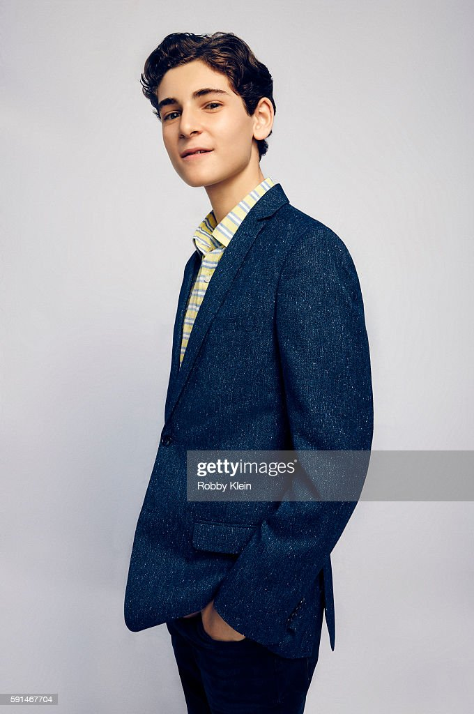 Actor David Mazouz from FOX's 'Gotham' poses for a portrait at the FOX Summer TCA Press Tour at Soho House on August 9, 2016 in Los Angeles, California.