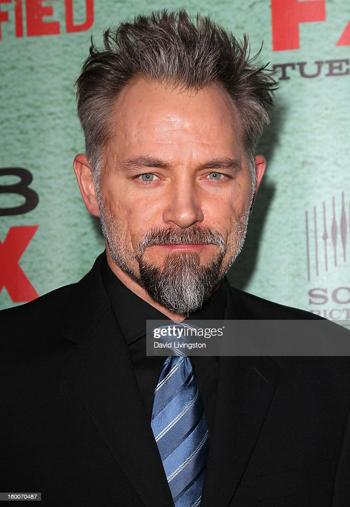Actor David Meunier attends the premiere of FX's 'Justified' Season 4 at the Paramount Theater on the Paramount Studios lot on January 5, 2013 in Hollywood, California.