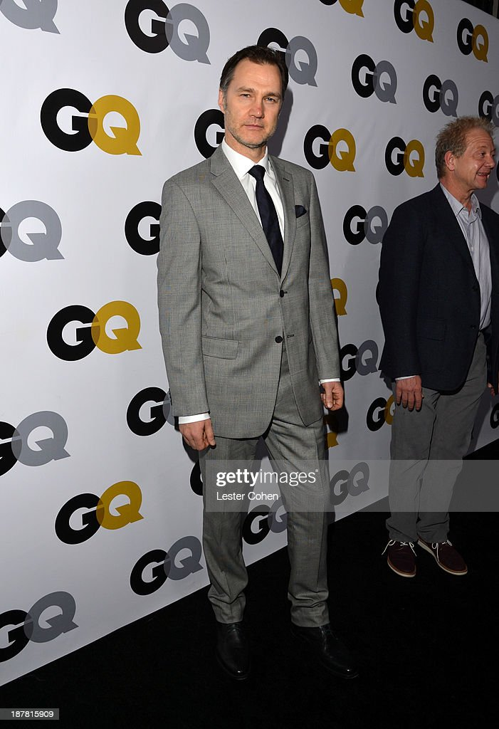 Actor <a gi-track='captionPersonalityLinkClicked' href=/galleries/search?phrase=David+Morrissey&family=editorial&specificpeople=220896 ng-click='$event.stopPropagation()'>David Morrissey</a> attends the GQ Men Of The Year Party at The Ebell Club of Los Angeles on November 12, 2013 in Los Angeles, California.