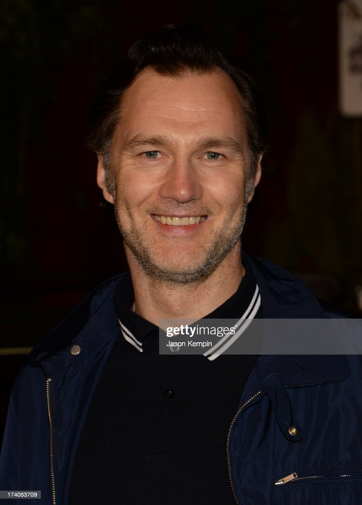 Actor <a gi-track='captionPersonalityLinkClicked' href=/galleries/search?phrase=David+Morrissey&family=editorial&specificpeople=220896 ng-click='$event.stopPropagation()'>David Morrissey</a> attends 'The Walking Dead' 10th Anniversary Celebration Event during Comic-Con 2013 on July 19, 2013 in San Diego, California.