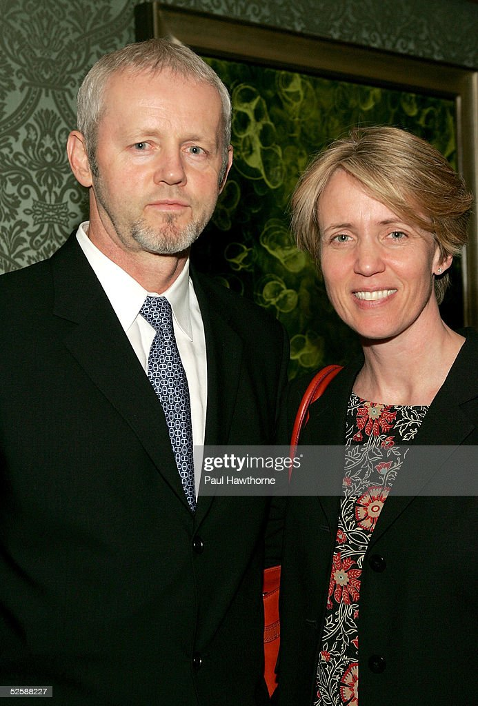 Actor David Morse and his wife Susan Wheeler Duff pose for a photo as they attend the Signature Theatre Company's Annual Gala honoring playwright Paula Vogel at The Ritz-Carlton hotel April 4, 2005 in New York City.