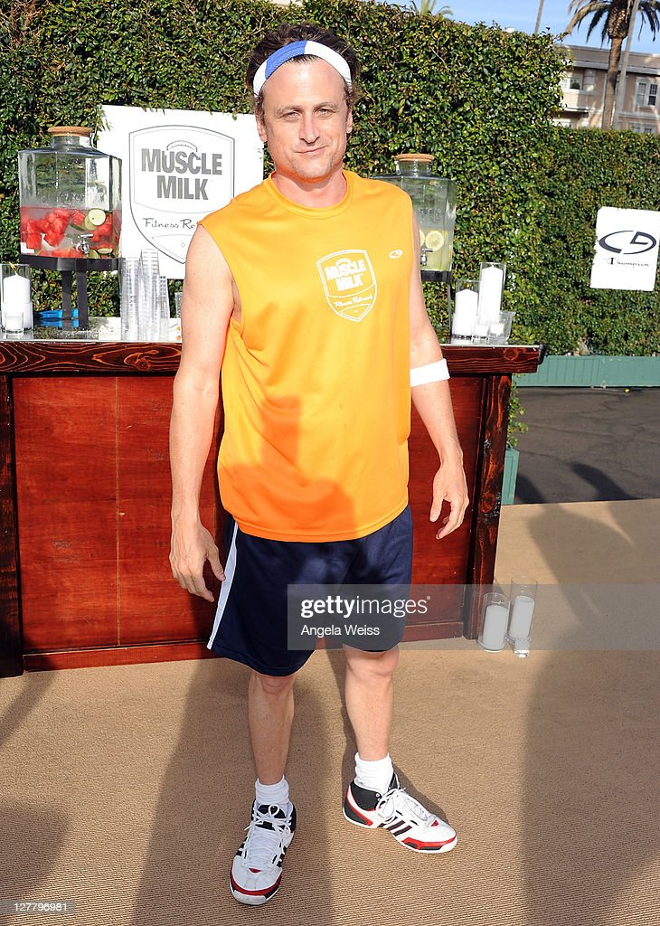 Actor David Moscow attends the Muscle Milk Fitness Retreat on June 3 2011 in Los Angeles California
