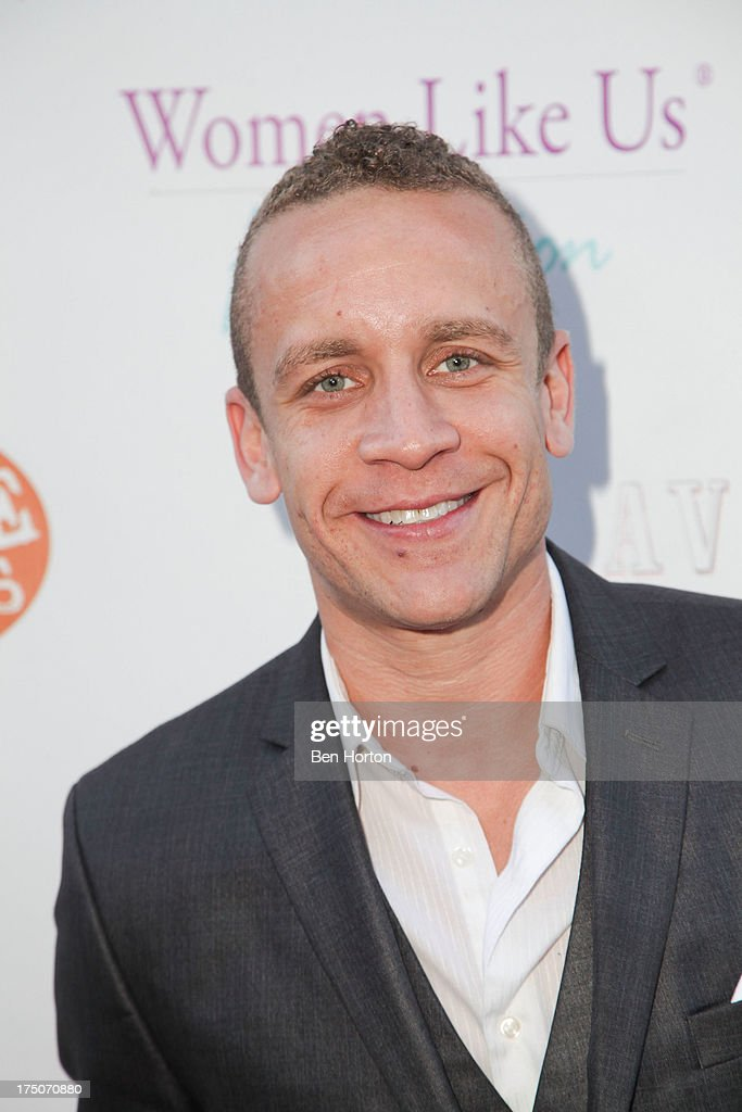 Actor David Nathie Barnes attends the Women Like Us Foundation's One Girl at a Time Fundraiser at the Aventine Hollywood on July 30, 2013 in Hollywood, California.