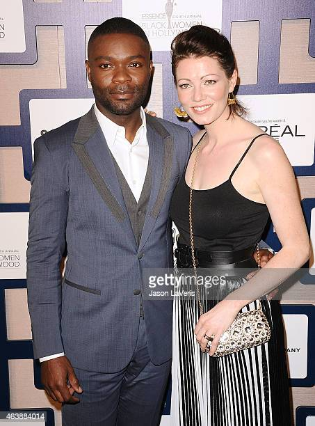 Actor David Oyelowo and actress Jessica Oyelowo attend the 8th annual ESSENCE Black Women In Hollywood luncheon at the Beverly Wilshire Four Seasons...
