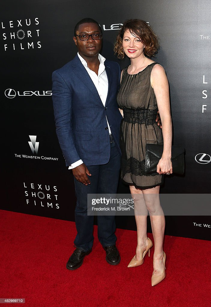 Actor <a gi-track='captionPersonalityLinkClicked' href=/galleries/search?phrase=David+Oyelowo&family=editorial&specificpeople=633075 ng-click='$event.stopPropagation()'>David Oyelowo</a> and his wife Jesica Oyelowo attend The Weinstein Company and Lexus Presents Lexus Short Films at the Regal Cinemas L.A. Live on July 30, 2014 in Los Angeles, California.