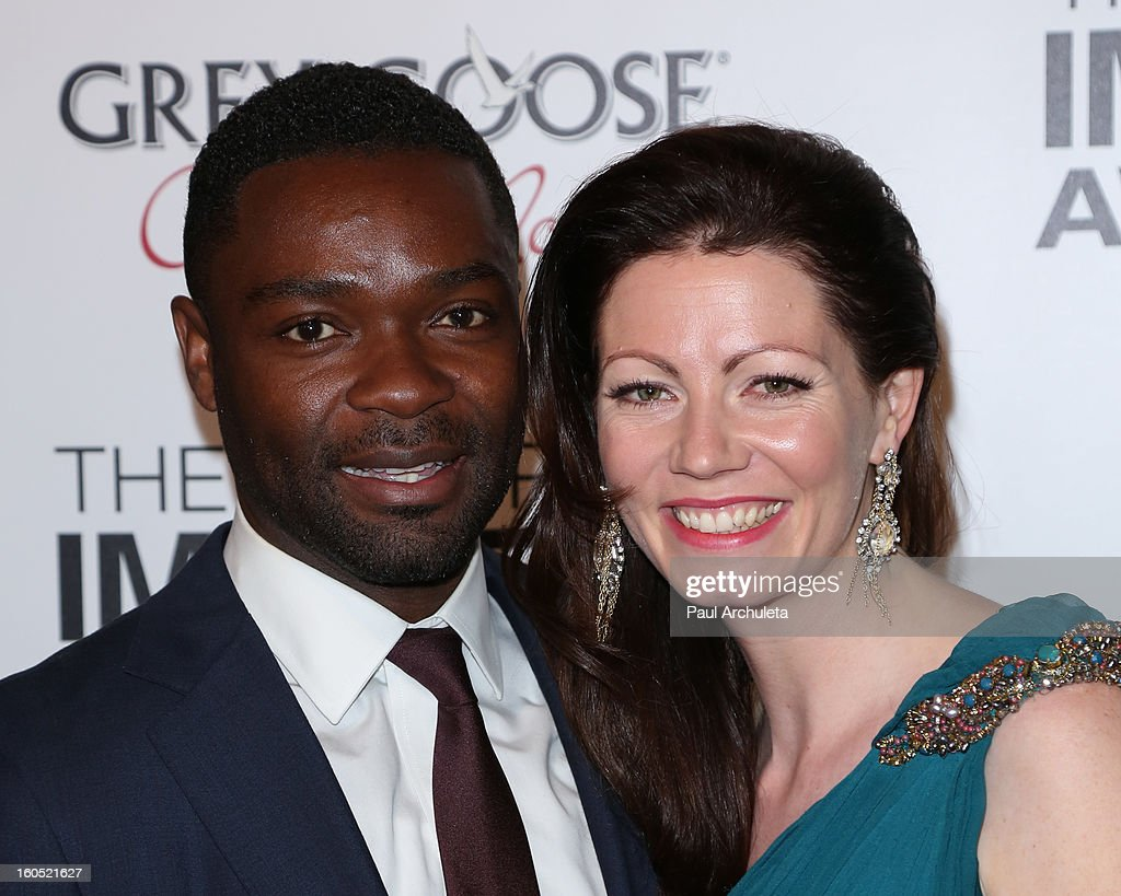Actor David Oyelowo (L) and his wife Jessica Oyelowo (R) attend the The 44th NAACP Image Awards post show gala at the Millennium Biltmore Hotel on February 1, 2013 in Los Angeles, California.