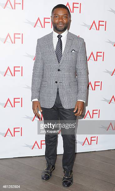 Actor David Oyelowo arrives at the 15th Annual AFI Awards at Four Seasons Hotel Los Angeles at Beverly Hills on January 9 2015 in Beverly Hills...