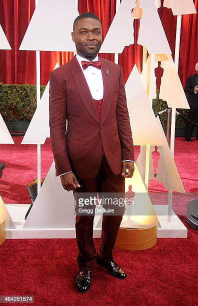 Actor David Oyelowo arrives at the 87th Annual Academy Awards at Hollywood Highland Center on February 22 2015 in Hollywood California