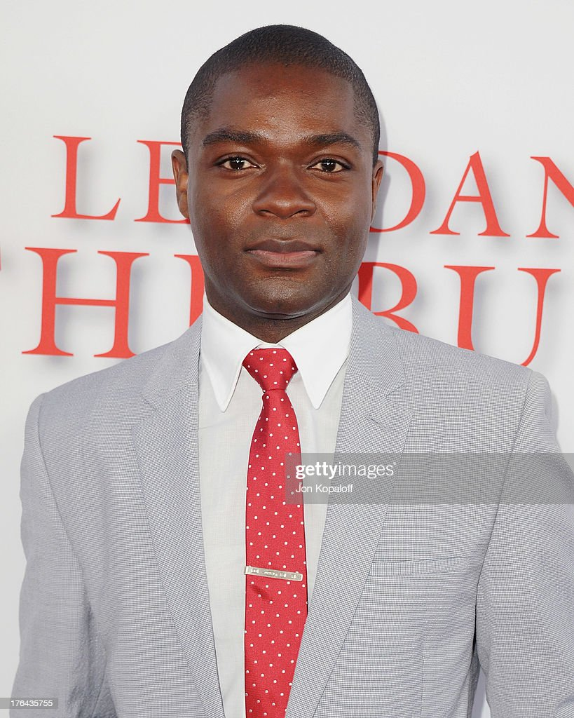 Actor <a gi-track='captionPersonalityLinkClicked' href=/galleries/search?phrase=David+Oyelowo&family=editorial&specificpeople=633075 ng-click='$event.stopPropagation()'>David Oyelowo</a> arrives at the Los Angeles Premiere 'Lee Daniels' The Butler' at Regal Cinemas L.A. Live on August 12, 2013 in Los Angeles, California.