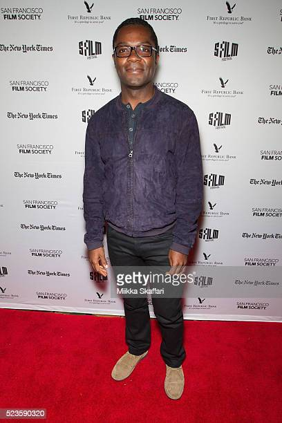 Actor David Oyelowo arrives at the premiere of 'Five Nights In Maine' at 59th San Francisco International Film Festival at Alamo Drafthouse New...