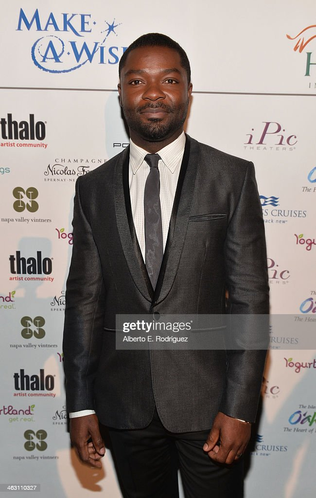 Actor <a gi-track='captionPersonalityLinkClicked' href=/galleries/search?phrase=David+Oyelowo&family=editorial&specificpeople=633075 ng-click='$event.stopPropagation()'>David Oyelowo</a> attends 19th Annual Critics' Choice Movie Awards at Barker Hangar on January 16, 2014 in Santa Monica, California.
