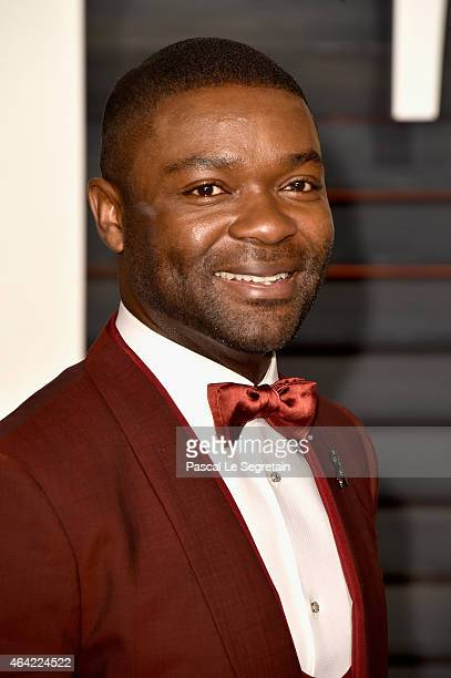 Actor David Oyelowo attends the 2015 Vanity Fair Oscar Party hosted by Graydon Carter at Wallis Annenberg Center for the Performing Arts on February...