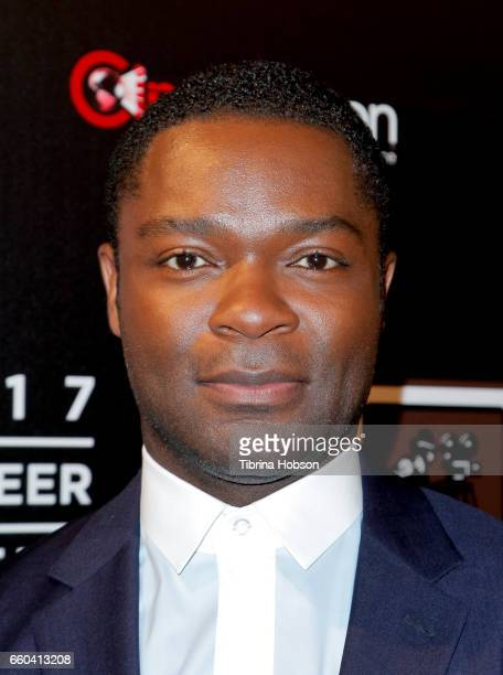 Actor David Oyelowo attends the 2017 Will Rogers Pioneer of the Year dinner honoring Cheryl Boone Isaacs during CinemaCon 2017 at Caesars Palace on...