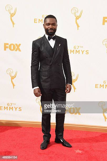 Actor David Oyelowo attends the 67th Annual Primetime Emmy Awards at Microsoft Theater on September 20 2015 in Los Angeles California