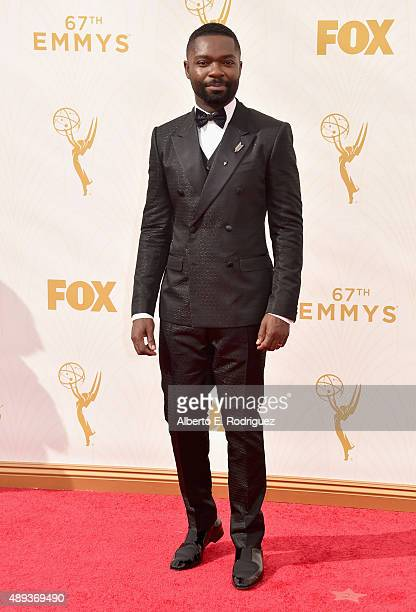 Actor David Oyelowo attends the 67th Emmy Awards at Microsoft Theater on September 20 2015 in Los Angeles California 25720_001