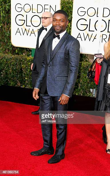 Actor David Oyelowo attends the 72nd Annual Golden Globe Awards at The Beverly Hilton Hotel on January 11 2015 in Beverly Hills California
