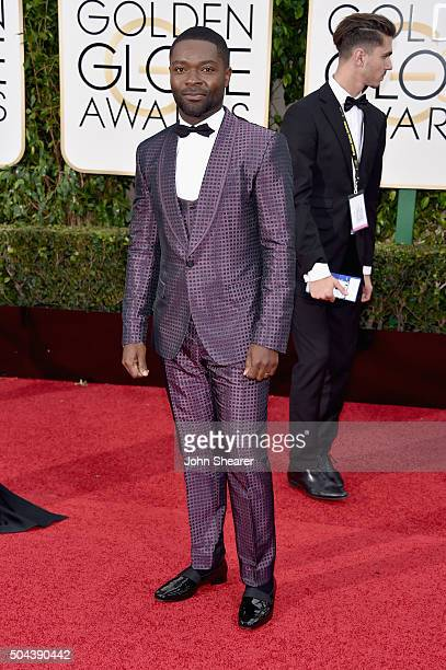 Actor David Oyelowo attends the 73rd Annual Golden Globe Awards held at the Beverly Hilton Hotel on January 10 2016 in Beverly Hills California
