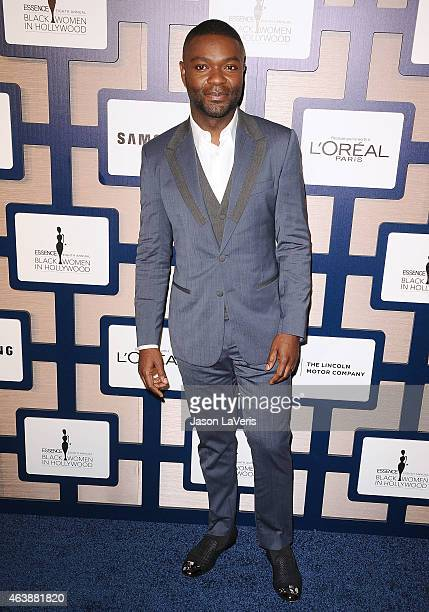 Actor David Oyelowo attends the 8th annual ESSENCE Black Women In Hollywood luncheon at the Beverly Wilshire Four Seasons Hotel on February 19 2015...