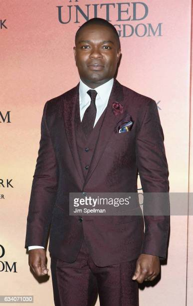 Actor David Oyelowo attends the 'A United Kingdom' world premiere at The Paris Theatre on February 6 2017 in New York City