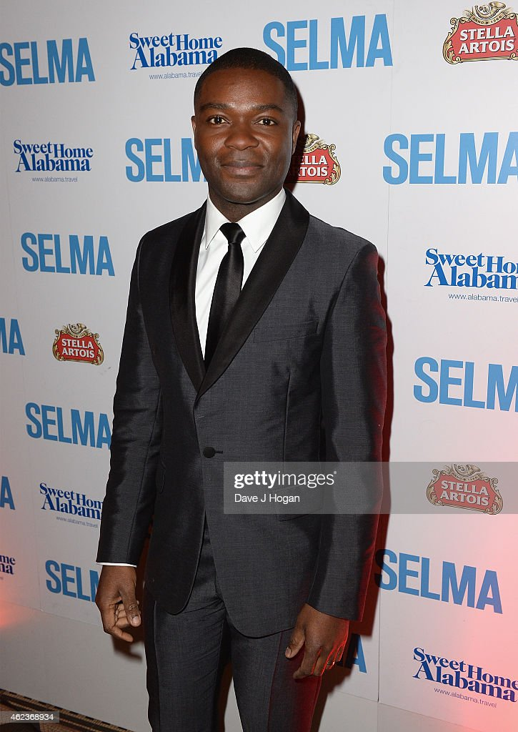Actor <a gi-track='captionPersonalityLinkClicked' href=/galleries/search?phrase=David+Oyelowo&family=editorial&specificpeople=633075 ng-click='$event.stopPropagation()'>David Oyelowo</a> attends the European premiere of 'Selma' after party at One Mayfair on January 27, 2015 in London, England.