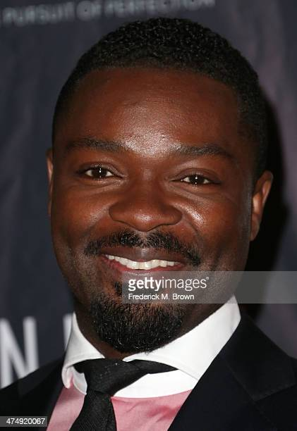 Actor David Oyelowo attends the ICON MANN Second Annual POWER 50 PreOscar Dinner at The Peninsula Hotel on February 25 2014 in Beverly Hills...
