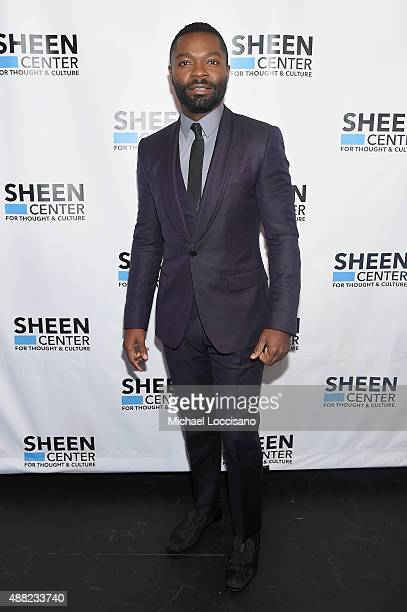 Actor David Oyelowo attends the New York City Special Screening of Captive at the Sheen Center on September 14 2015 in New York City