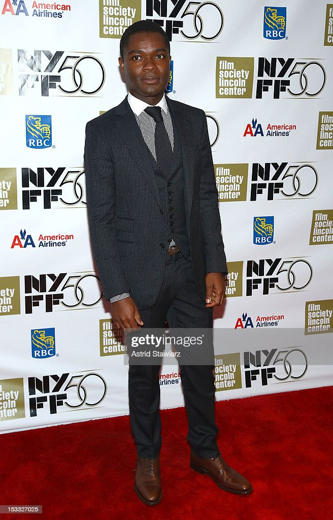 Actor <a gi-track='captionPersonalityLinkClicked' href=/galleries/search?phrase=David+Oyelowo&family=editorial&specificpeople=633075 ng-click='$event.stopPropagation()'>David Oyelowo</a> attends the Nicole Kidman Gala Tribute during the 50th annual New York Film Festival at Lincoln Center on October 3, 2012 in New York City.