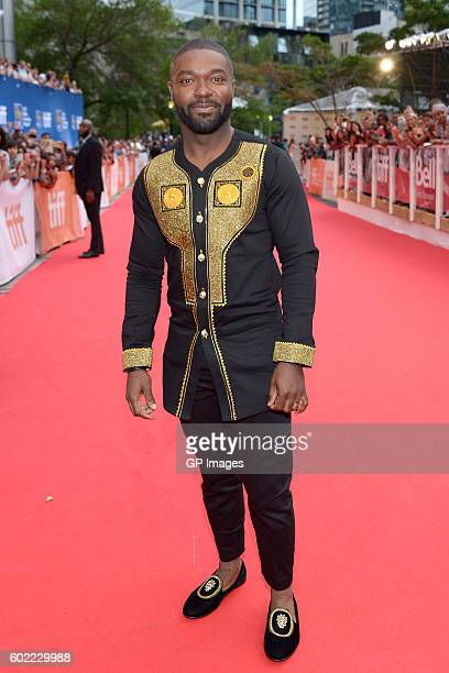 Actor David Oyelowo attends the 'Queen of Katwe' premiere during the 2016 Toronto International Film Festival at Roy Thomson Hall on September 10...