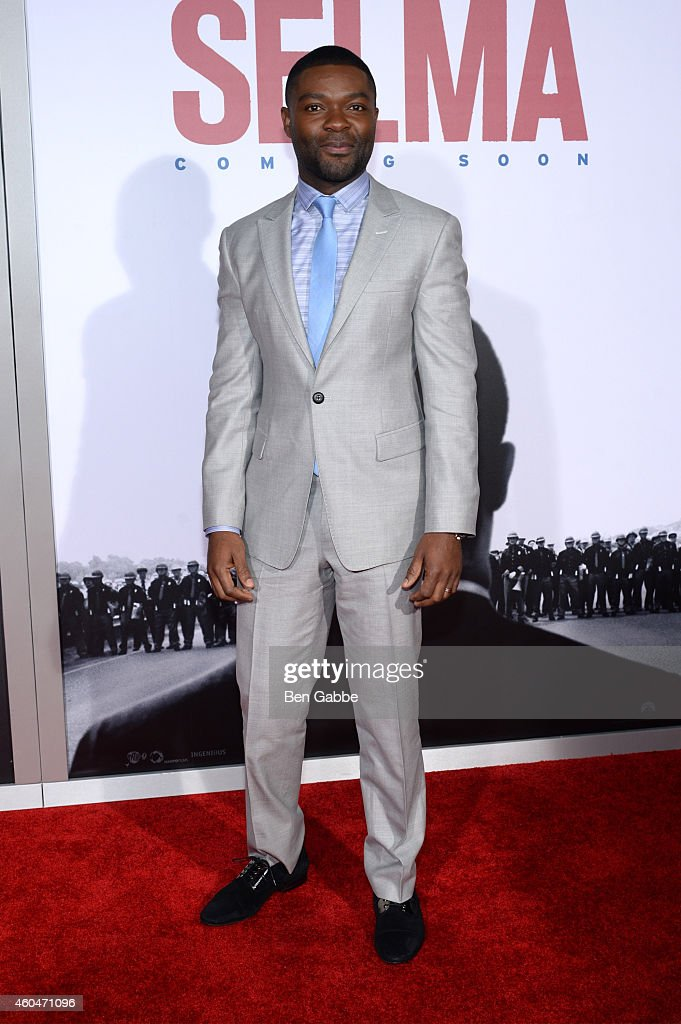 Actor <a gi-track='captionPersonalityLinkClicked' href=/galleries/search?phrase=David+Oyelowo&family=editorial&specificpeople=633075 ng-click='$event.stopPropagation()'>David Oyelowo</a> attends the 'Selma' New York Premiere at Ziegfeld Theater on December 14, 2014 in New York City.