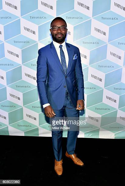 Actor David Oyelowo attends the Vanity Fair and Tiffany Co private dinner toasting Lupita Nyong'o and celebrating Legendary Style at ShangriLa Hotel...