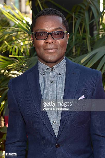 Actor David Oyelowo attends The World Premiere of Disney's 'THE JUNGLE BOOK' at the El Capitan Theatre on April 4 2016 in Hollywood California