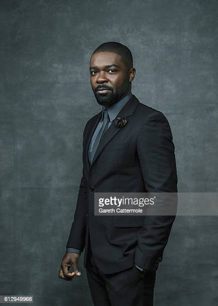 Actor David Oyelowo is photographed during the 60th BFI London Film Festival at The Mayfair Hotel on October 5 2016 in London England
