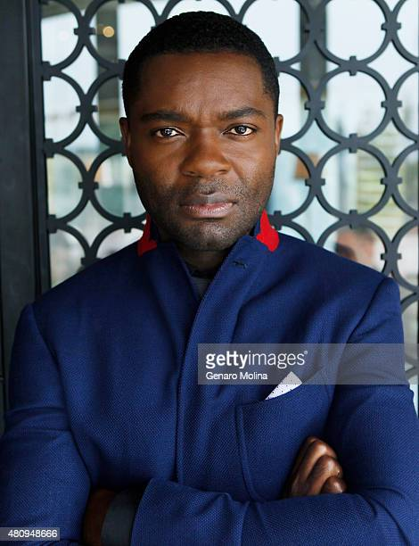 Actor David Oyelowo is photographed for Los Angeles Times on May 13 2015 in West Hollywood California Published Image CREDIT MUST READ Genaro...