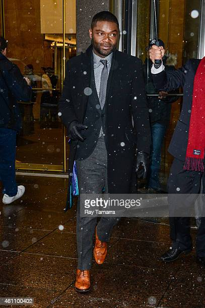 Actor David Oyelowo leaves the Sirius XM Studios on January 6 2015 in New York City