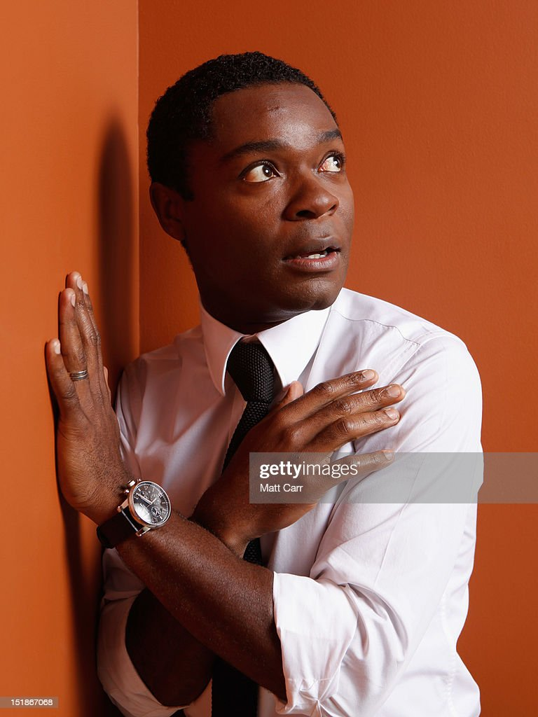 Actor <a gi-track='captionPersonalityLinkClicked' href=/galleries/search?phrase=David+Oyelowo&family=editorial&specificpeople=633075 ng-click='$event.stopPropagation()'>David Oyelowo</a> of 'Middle of Nowhere' poses at the Guess Portrait Studio during 2012 Toronto International Film Festival on September 12, 2012 in Toronto, Canada.
